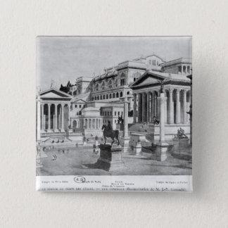 The Roman Forum of Antiquity Pinback Button