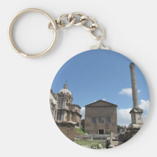 The Roman Forum · Photo exterior Key Chain