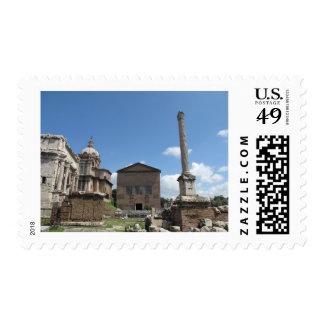 The Roman Forum · Photo, exterior Postage Stamp