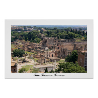 The Roman Forum Poster