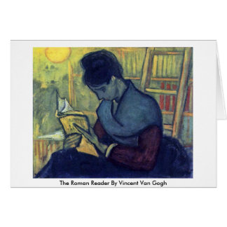 The Roman Reader By Vincent Van Gogh Cards