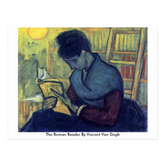 The Roman Reader By Vincent Van Gogh Postcard