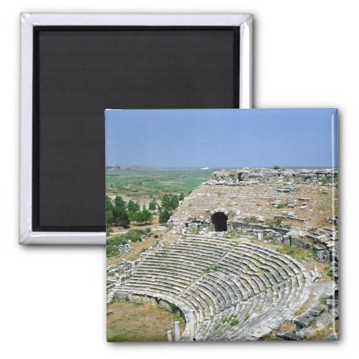 The Roman theatre, 1st-2nd centuries AD 2 Inch Square Magnet