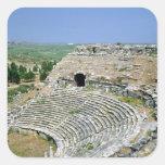 The Roman theatre, 1st-2nd centuries AD Square Sticker