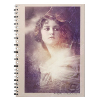 The Romance of Jane - no text Spiral Notebook