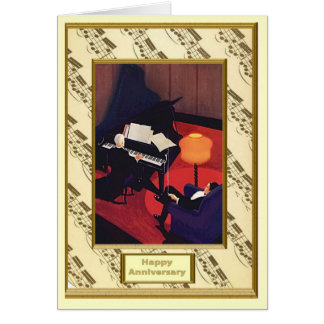 The romance of music,  Concert pianist Card
