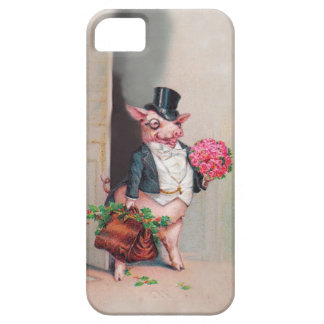 The Romance of the Pig - Cute Vintage iPhone5 Case iPhone 5 Cases