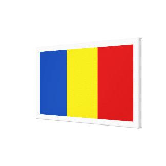 The Romanian Flag Canvas Prints