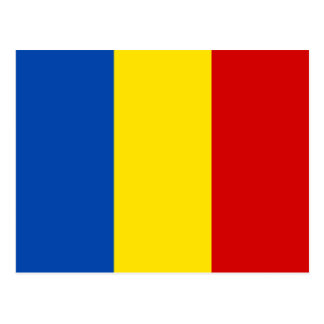 The Romanian Flag Postcard