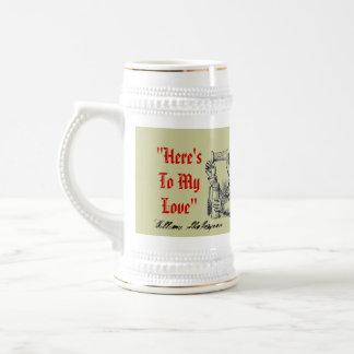 The Romeo Toast To Juliet Drink Poison Shakespeare Beer Stein
