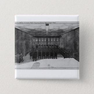 The Romer Hall at Frankfurt-am-Main Pinback Button