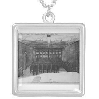 The Romer Hall at Frankfurt-am-Main Silver Plated Necklace