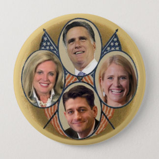 The Romney Ryan Team Button
