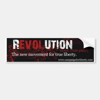 The Ron Paul Revolution Car Bumper Sticker