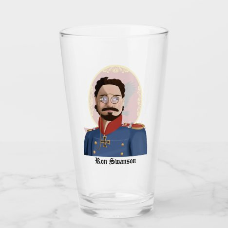 The Ron Swanson Beer Glass