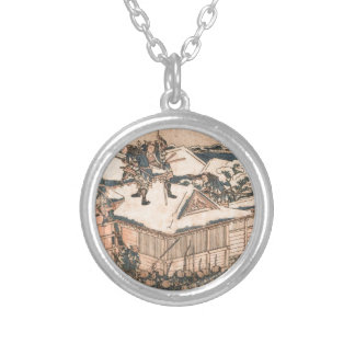 The ronin attack the principal gate of Kira's... Silver Plated Necklace