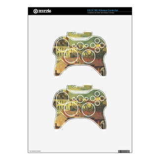 The roofs by Paul Cezanne Xbox 360 Controller Decal