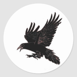 The Rook Classic Round Sticker