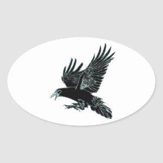 The Rook Oval Sticker