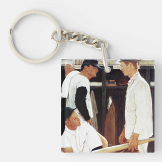 The Rookie Double-Sided Square Acrylic Keychain
