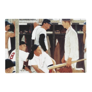 The Rookie Placemat at Zazzle