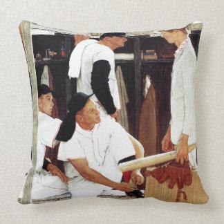 The Rookie Throw Pillows