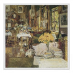 The Room of Flowers, 1894 Childe Hassam Print