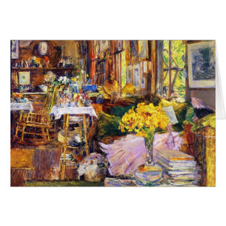 The Room of Flowers Greeting Card