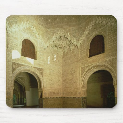 The Room of the Two Sisters  14th century Mouse Pad