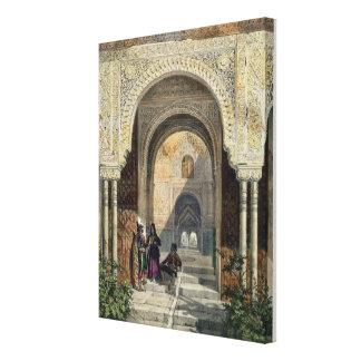 The Room of the Two Sisters in the Alhambra, Grana Canvas Print