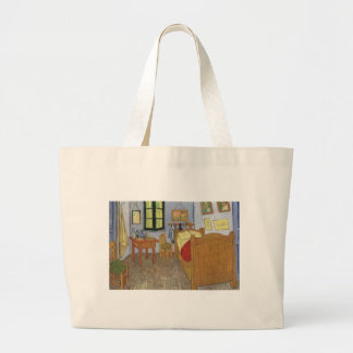 The room of Vincent Van Gogh (The room) Large Tote Bag