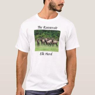 The Roosevelt Elk Herd T-Shirt