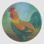 The Rooster Classic Round Sticker