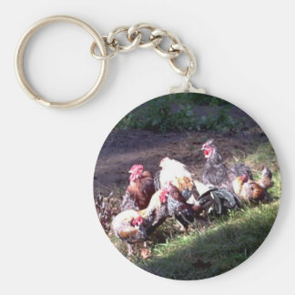 The Rooster Gang Keychain
