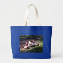 The Rooster Gang Large Tote Bag
