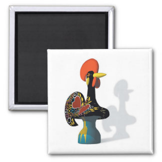 The rooster of Barcelos Magnet