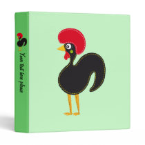 the Rooster of Portugal Binder