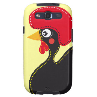 the Rooster of Portugal Samsung Galaxy SIII Covers