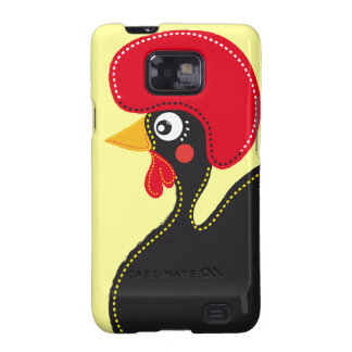 the Rooster of Portugal Galaxy SII Case