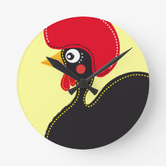 the Rooster of Portugal Clock