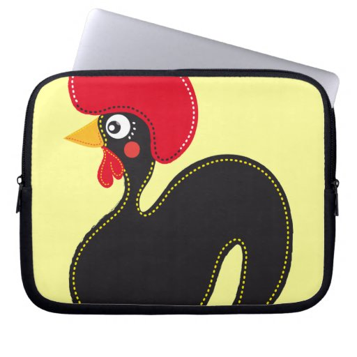 the Rooster of Portugal Computer Sleeves