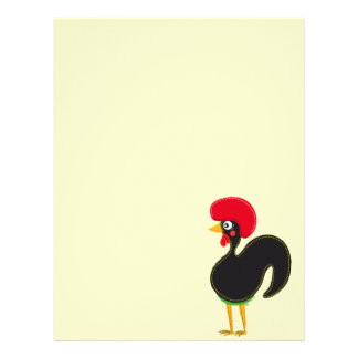 the Rooster of Portugal Letterhead