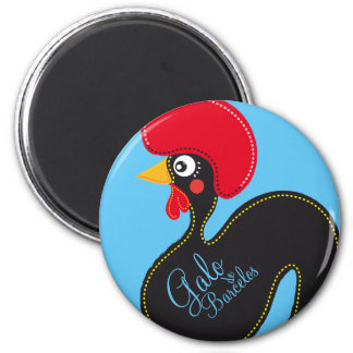 the Rooster of Portugal Magnet