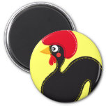 the Rooster of Portugal Magnets