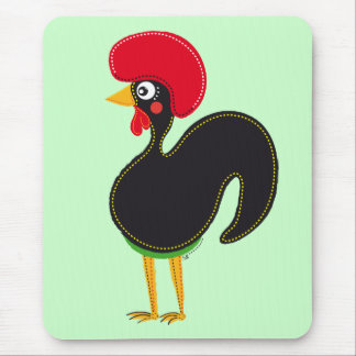 The Rooster of Portugal Mouse Pad