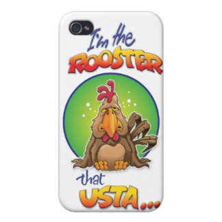 The Rooster that Usta iPhone 4 Case