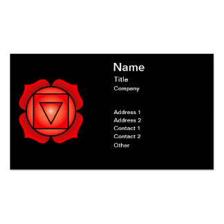 The Root Chakra Business Card