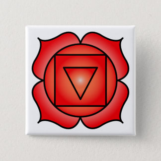 The Root Chakra Button