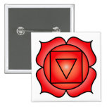 The Root Chakra Pinback Button