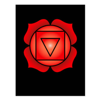 The Root Chakra Postcard